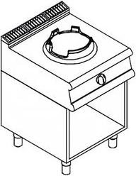 Газовая плита WOK APACH LRWG67OS - 1